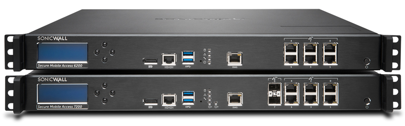 SonicWall Secure Mobile Access (SMA) 1000 Series