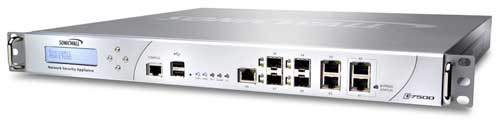 SonicWALL NSA E7500 Network Security Appliance