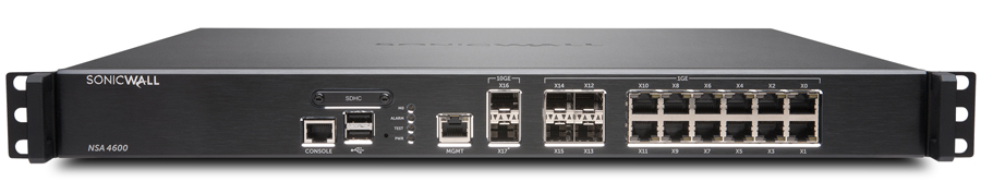 SonicWall NSA 4600 Network Security Appliance